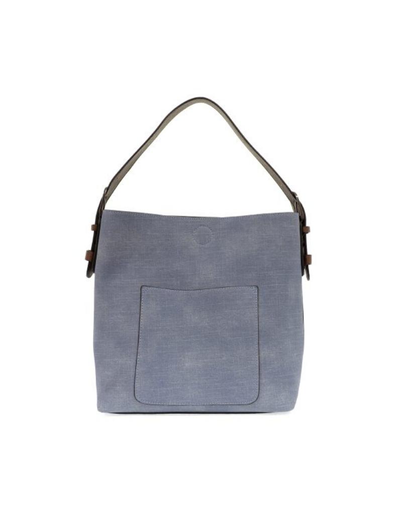 Linen Hobo Handbag
