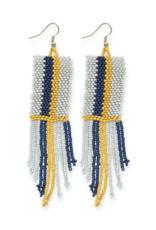 Stripe Seed Bead Earring