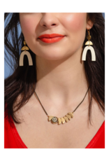 Zephyr Necklace in Amethyst