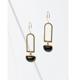 Casablana Earrings in Onyx