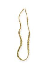 Wood Single Strand Necklace