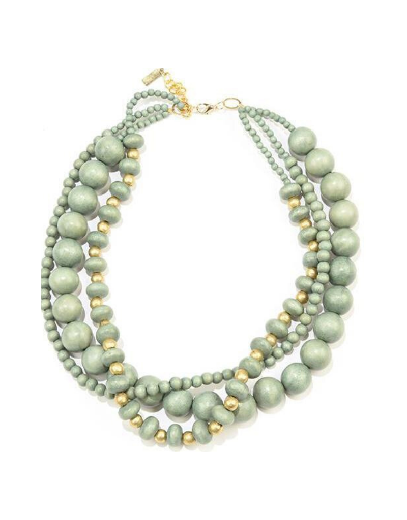 Short Three Strand Necklace