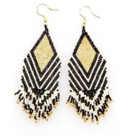 Stripe Luxe Earrings