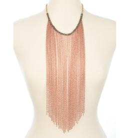 Sirens Fringe Necklace