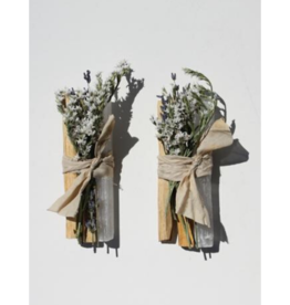 Palo Santo + White Selenite Crystal Bundle
