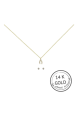 Make a Wish Necklace and Earring Set