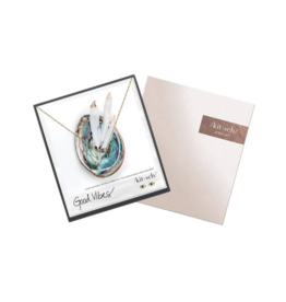 Good Vibes Necklace & Earring Set