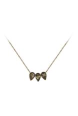 Guiding Gems Pear Trio Necklace