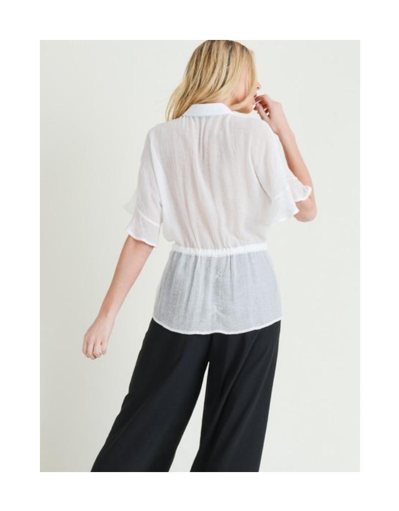 Diana Belted Shirt