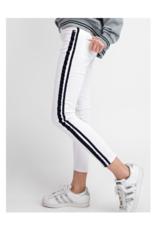 Estrella Striped Twill Skinnies