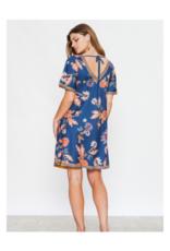 Floriana Knit Swing Dress