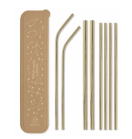 "Designworks""Wish Upon a Straw"" Straw Set"