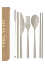 """Designworks""""Fork Yeah"""" Portable Flatware Set"""