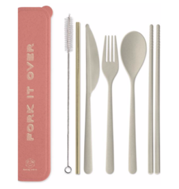 "Designworks""Fork it Over"" Portable Flatware Set"