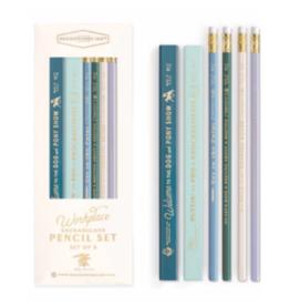 """Designworks""""Office Shenanigans"""" Carpenter Pencil Set"""
