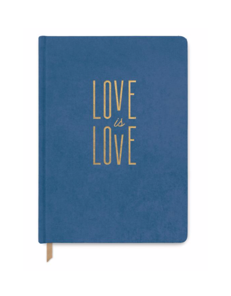 "Designworks""Love Is Love"" Cloth Cover Book"