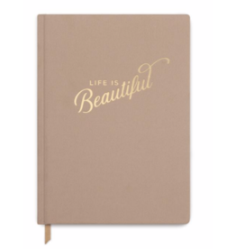 """Designworks""""Life Is Beautiful"""" Cloth Cover Book"""