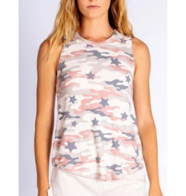 Follow the Stars  Camo Tank