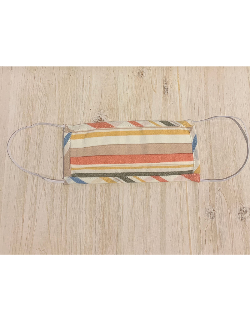 Pastel Striped Mask