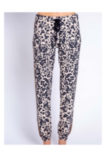 Ciao Bella Banded Leopard Pant Pants