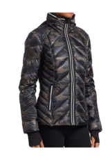 Puffer With Reflective Jacket Jacket