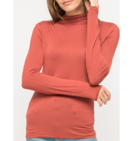 Monica Mock Neck Top