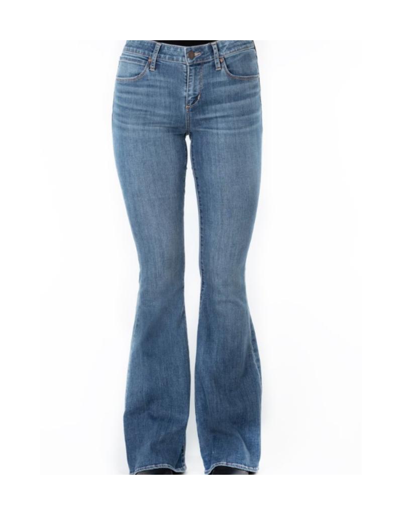 Faith Mid Rise Flare Jeans
