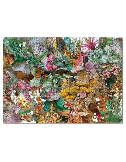 Flora + 1000 piece puzzle