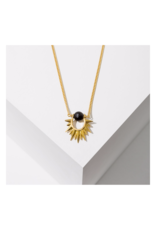 Capri Necklace in Onyx