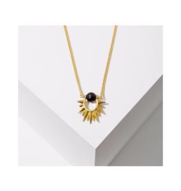 Capri Necklace in Onyx
