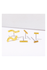 Lines Post Earring Pack