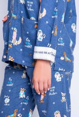 Flannel PJ Set Intimates + Sleepwear