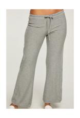 Cozy Knit Paneled Lounge Pant Pants