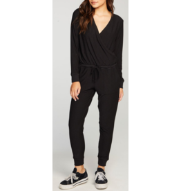 Cozy Knit Surplice Jumpsuit Jumpsuit