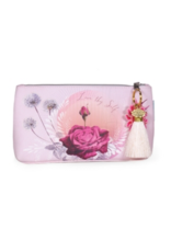 Lavender Rose Small Tassel Pouch