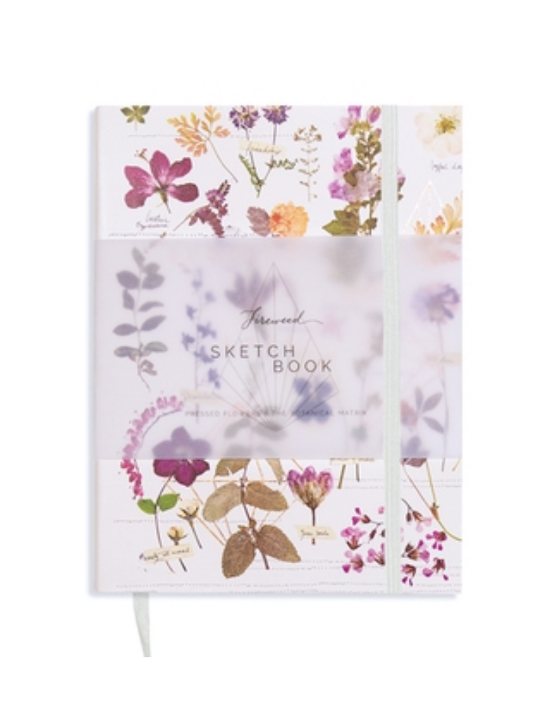 Love Garden Faux Leather Sketchbook
