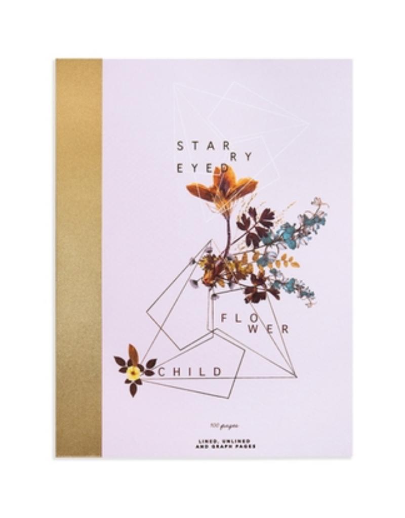 Flower Child Clothbound Notebook