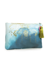 Catalina Watercolor Large Tassel Pouch