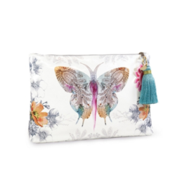 Paisley Butterfly Large Tassel Pouch