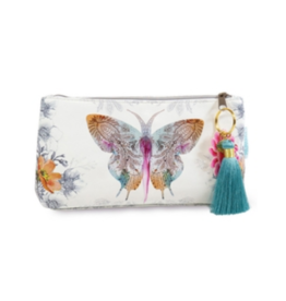 Paisley Butterfly Small Tassel Pouch