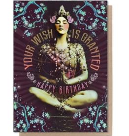 Granted Wish Birthday Greeting Card