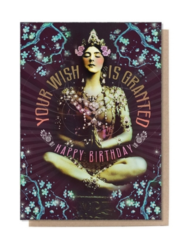 Granted Wish Birthday Greeting Card