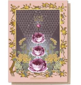 Love Multiplies Greeting Card