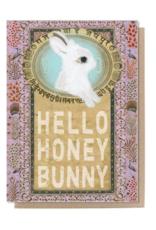 Honey Bunny Greeting Card