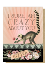 Meerkat Keeper Greeting Card