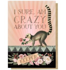 Meerkat Keeper Greeting Card