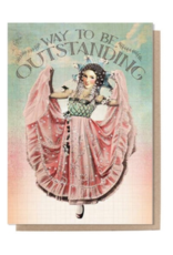 Outstanding Greeting Card
