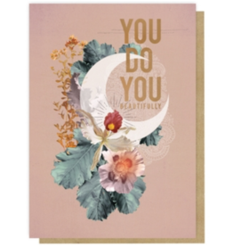 Crescent Greeting Card