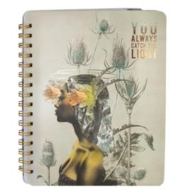 Universe Spiral Notebook