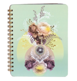 Solar Blooms Spiral Notebook